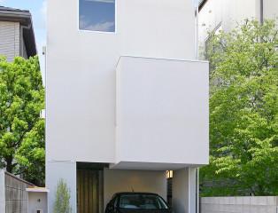 素敵な空間を持った狭小住宅。