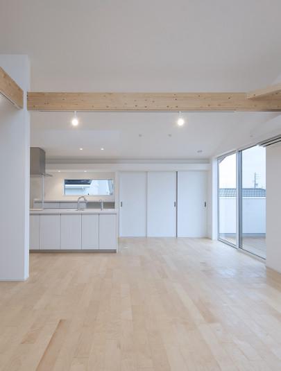 『2階キッチン・背面収納』